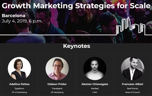Learn the growth marketing strategies behind the success of Travelperk, Typeform & Red Points at SaaStock Local! Get 40% off with the code: barcinno40
