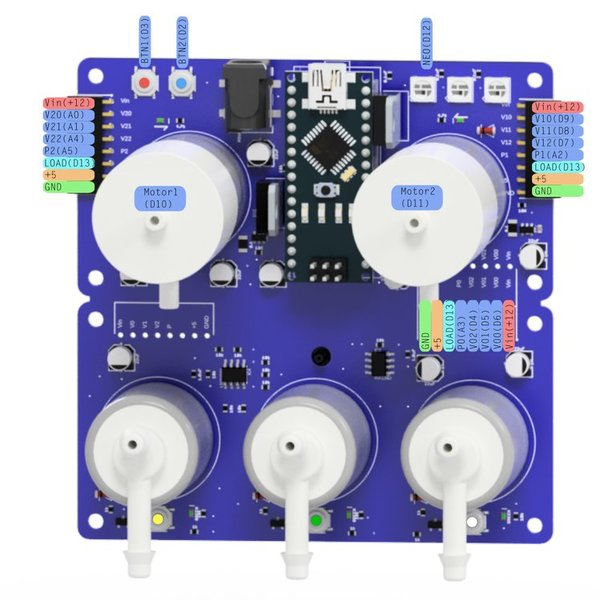 Bringing easy pnuematic control to Arduino