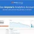 See Anyone's Analytics