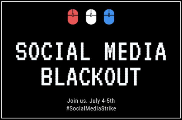 Wie doet mee met de #SocialMediaStrike? Image-klik voor meer.