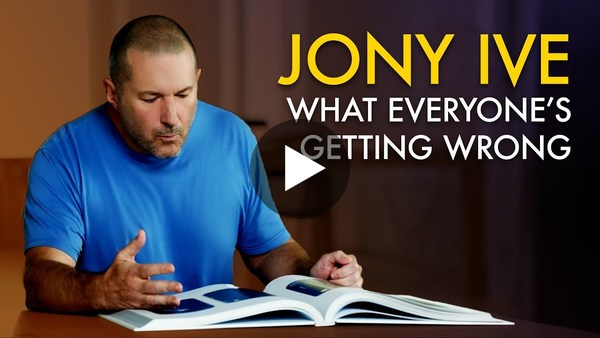 🇬🇧 Why Everyone is Wrong About Jony Ive and Design at Apple (Feat. May-Li Khoe)