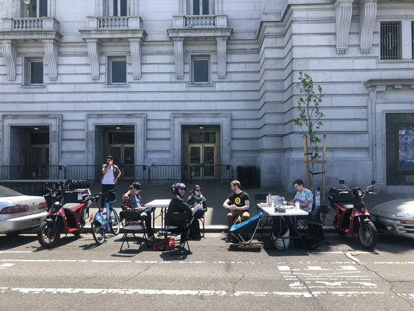 Parking Spots Turned Into Co-Working Spaces In San Francisco — Pop-Up City