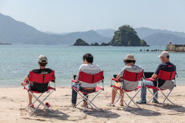 福井県若狭和田でのビーチコワーキング