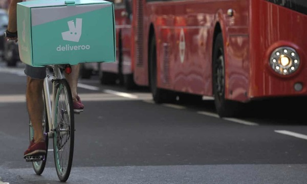 UK Competition regulator pauses Amazon's deal with Deliveroo