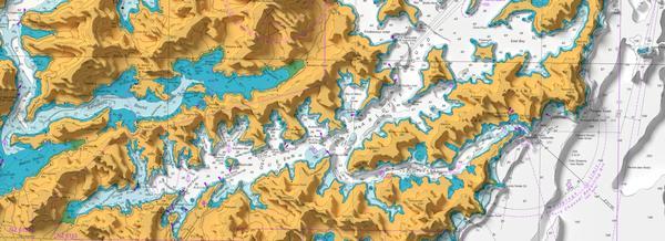Visualisation of LINZ elevation data using Blender