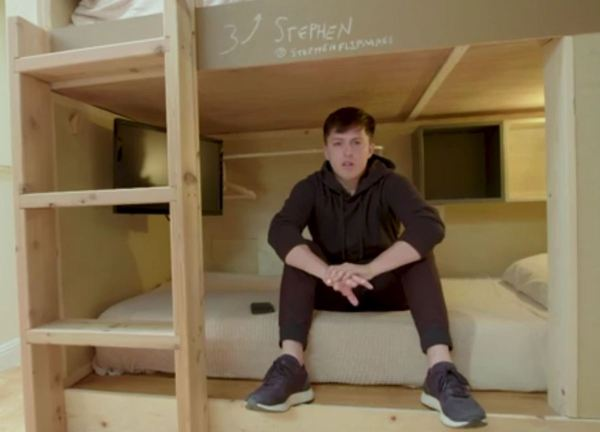 This bunk bed in California is $1,200 a month, privacy not included | WREG.com
