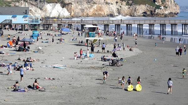 Beach warning: Keep kids out of the ocean as rip currents hit the Central Coast | San Luis Obispo Tribune