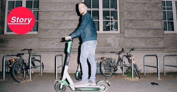 Wie Denis dafür sorgt, dass E-Scooter in Berlin immer voll aufgeladen sind