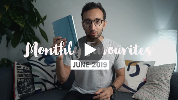 June Favourites 2019 - Ali Abdaal