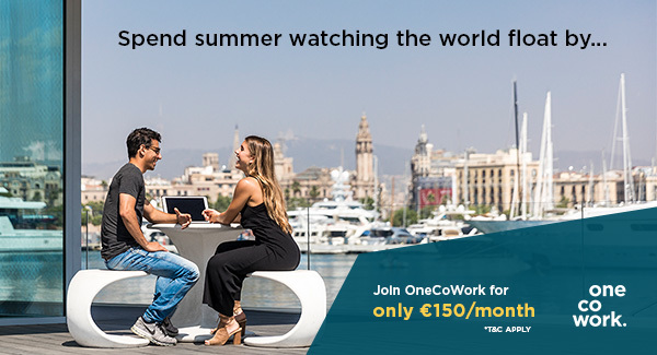 OneCoWork is offering a Summer Special at Marina Port Vell & Plaça Catalunya
