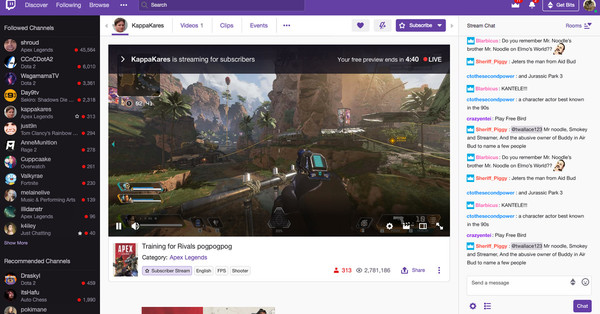 Twitch launches subscriber-only streams, but only for creators who don't violate its rules