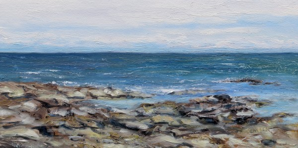 Tide coming in Reef Bay by Terrill Welch | Artwork Archive