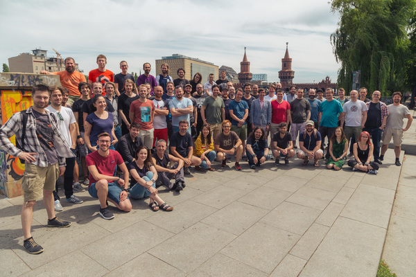 The YAGER team in Berlin
