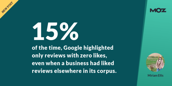 New Things I've Learned About Google Review Likes - Moz