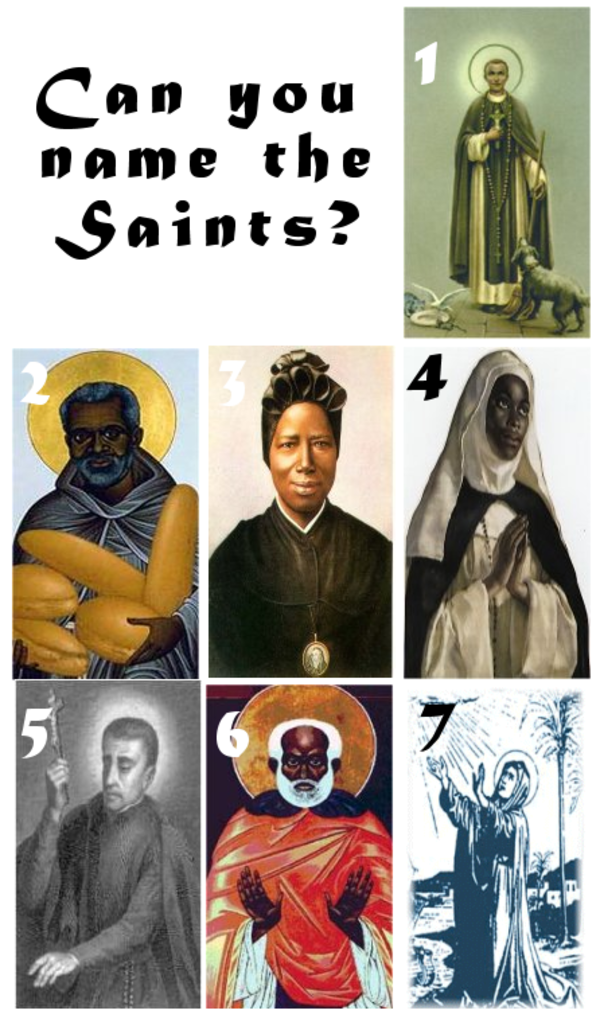 Can you name the saints?