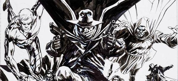 Butch Guice - Masks Original Cover Art