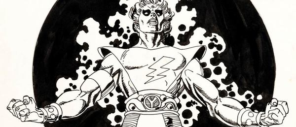 Gil Kane - Warlock Original Comic Art