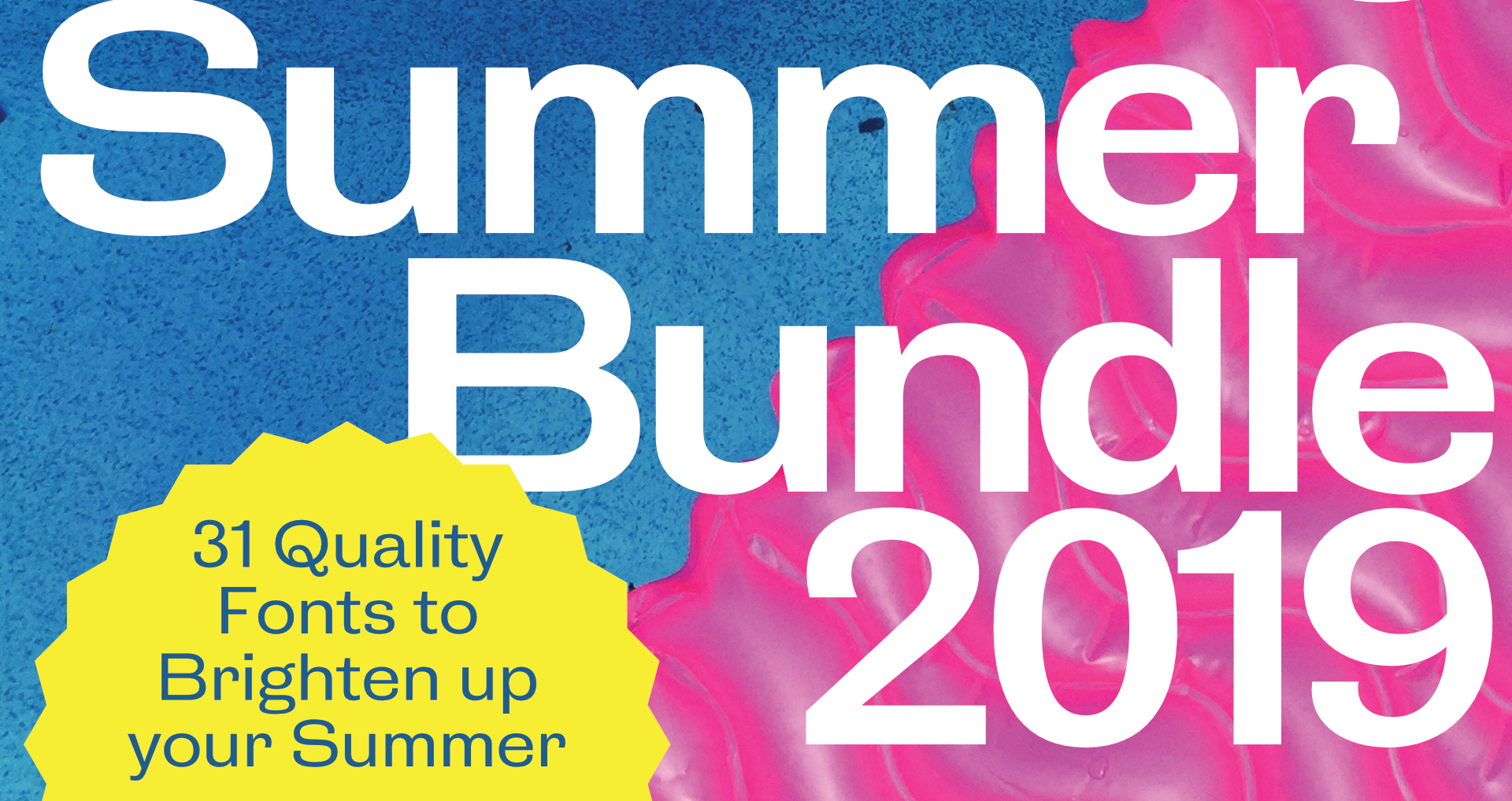 The HDC Summer Bundle includes 10 typefaces for only $15