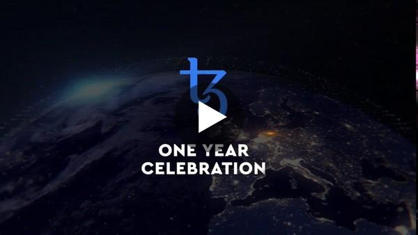 Tezos 1 Year Celebration Parties