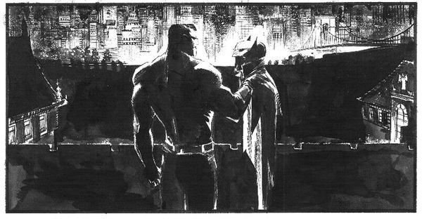 Sean Murphy Comic Art - Look at the background on this panel