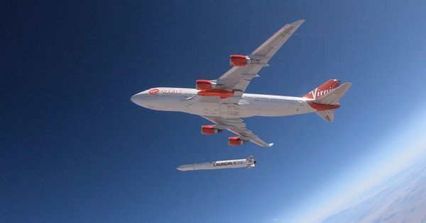 Virgin Orbit Edges Closer To First Space Launch With Drop Test Of Rocket Full Of Water