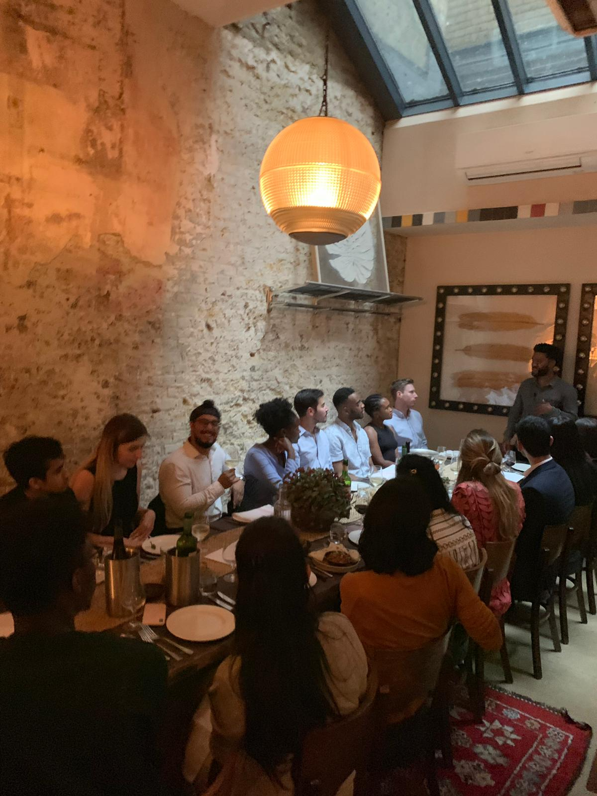 Delivering a talk at the Future VC Masterclass Dinner last week