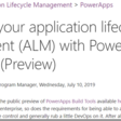 Public Preview of PowerApps Build Tools