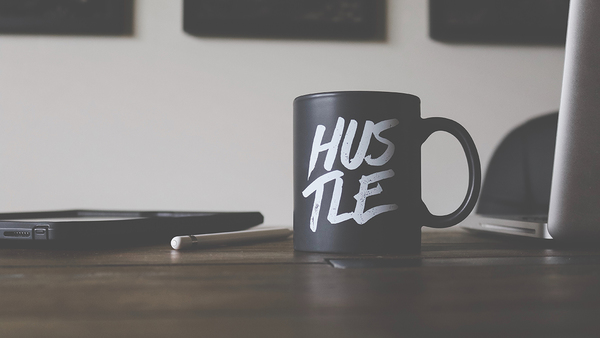 Hustle is real, but the entrepreneurship... - Credit: Lost Co on Unsplash