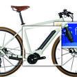 La bicicletta si prepara a pedalare da sola per le strade delle città