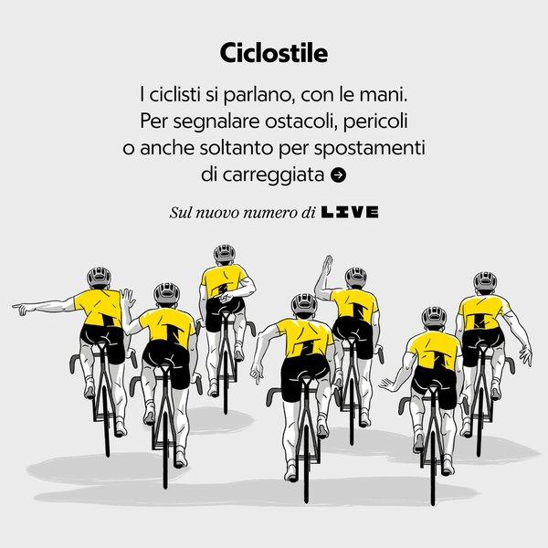 Il linguaggio dei ciclisti.