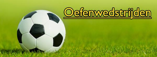Programma en uitslagen oefenwedstrijden voorbereiding seizoen 2019-2020