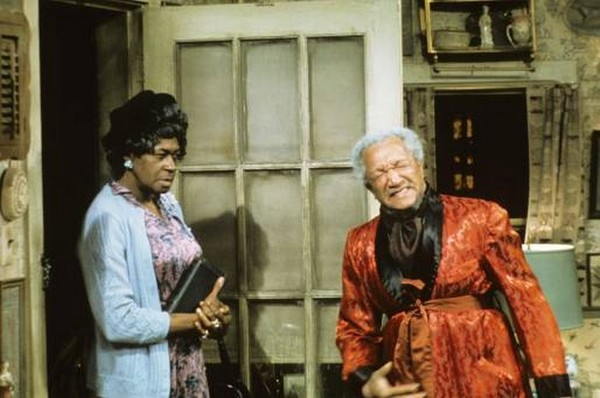 Bronze Goddess = Aunt Esther = LaWanda Page | Yeah, let that sink in.