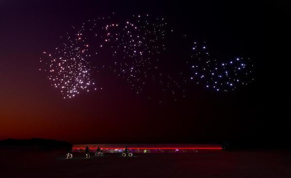 Studio Drift swarms NASA Apollo 11 50th anniversary with drone installation