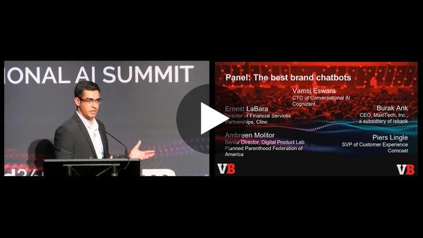 Best brand chatbots | Ernie LaBara, Burak Arik & Co | Conversational AI Summit | VB Transform 2019