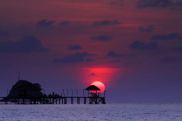 Koh Mak. Tropisch paradijs in Oost-Thailand.