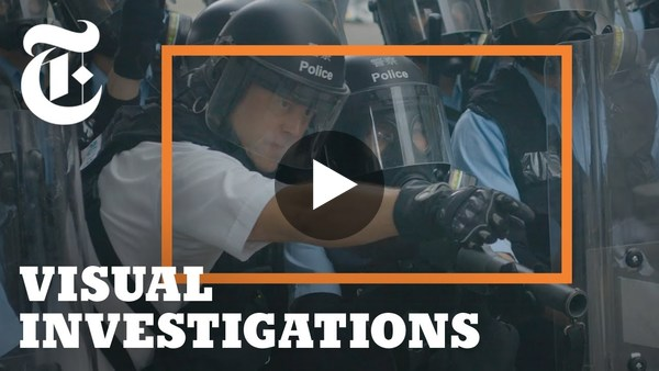 Did Hong Kong Police Abuse Protesters? What the Videos Show.