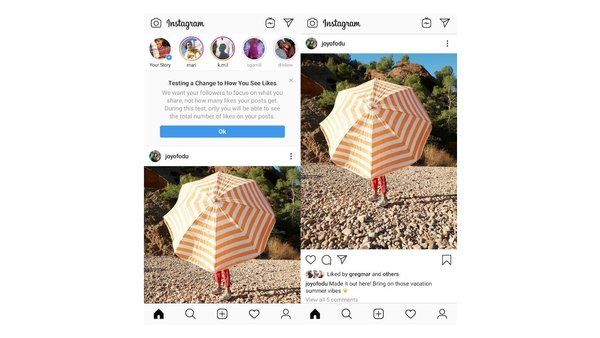 Instagram Starts Hiding Like Counts in More Countries - Thurrott.com