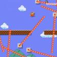 Dit is het klassieke eerste Mario-level wanneer je in de hel bent beland
