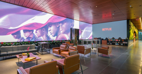 'The Town Hall of Hollywood.' Welcome to the Netflix Lobby. - The New York Times