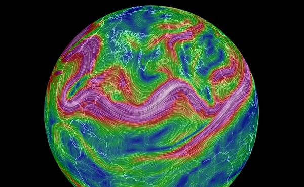 Jet streams, atmospheric turbulence and climate change