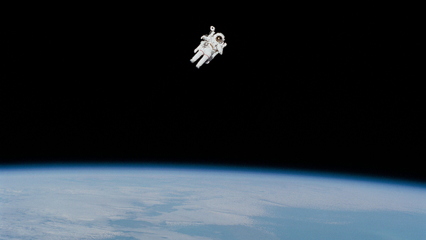 Walking in the Space - Credit: NASA on Unsplash
