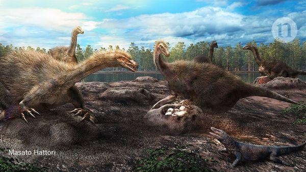Dinosaurier beschützten gegenseitig ihre Nester