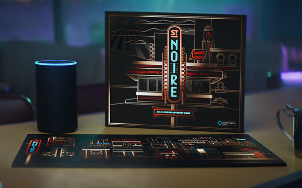 St. Noire, an Alexa-powered board game