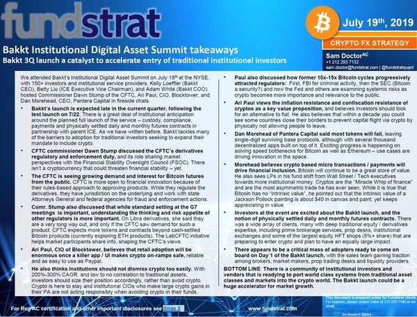 As Seen In The Digital Currency August 2019 Report