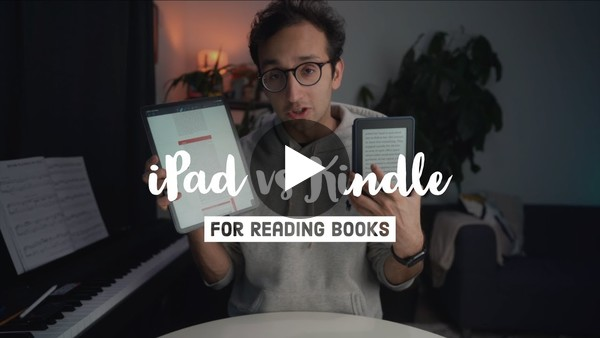 iPad vs Kindle for Reading Books
