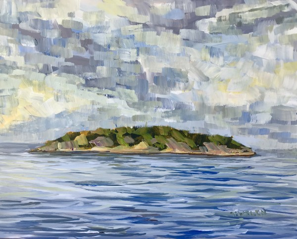 Georgeson Island In Summer Evening Light by Terrill | Artwork Archive