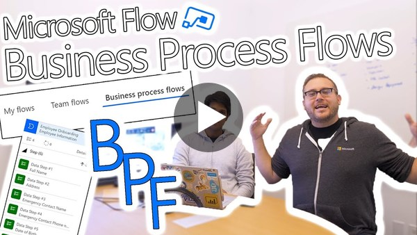 Microsoft Flow Preview - Immersive BPF