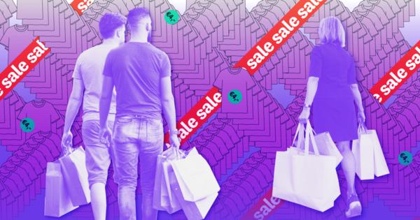 Mannen betalen online meer voor kleren dan vrouwen (en dat is al bijna niks)