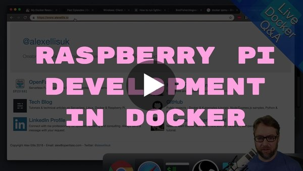 Getting Started With Raspberry Pi Development in Docker