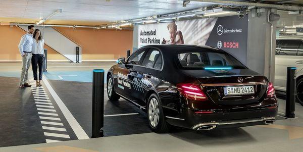 Mercedes Gets OK for Driverless Valet Parking Using Bosch Technology